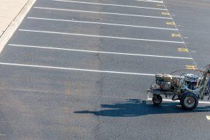 asphalt paving in Howard County - XSealer Asphalt Maintenance