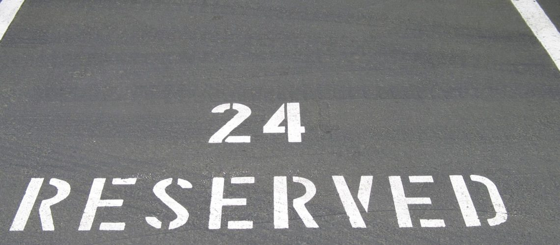 HOA parking lot -- XSealer Asphalt Maintenance